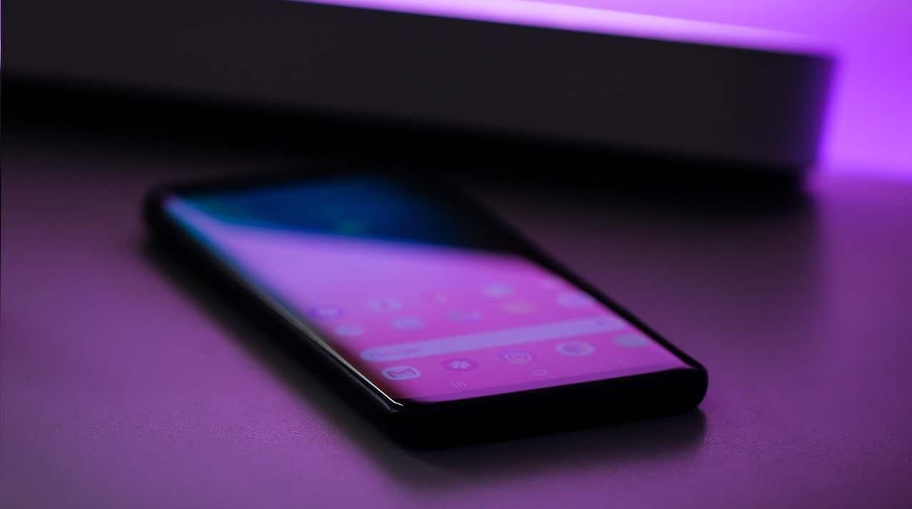 Close up of a phone